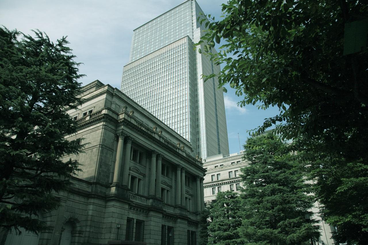 日銀_Boj_Bank of Japan in Tokyo.