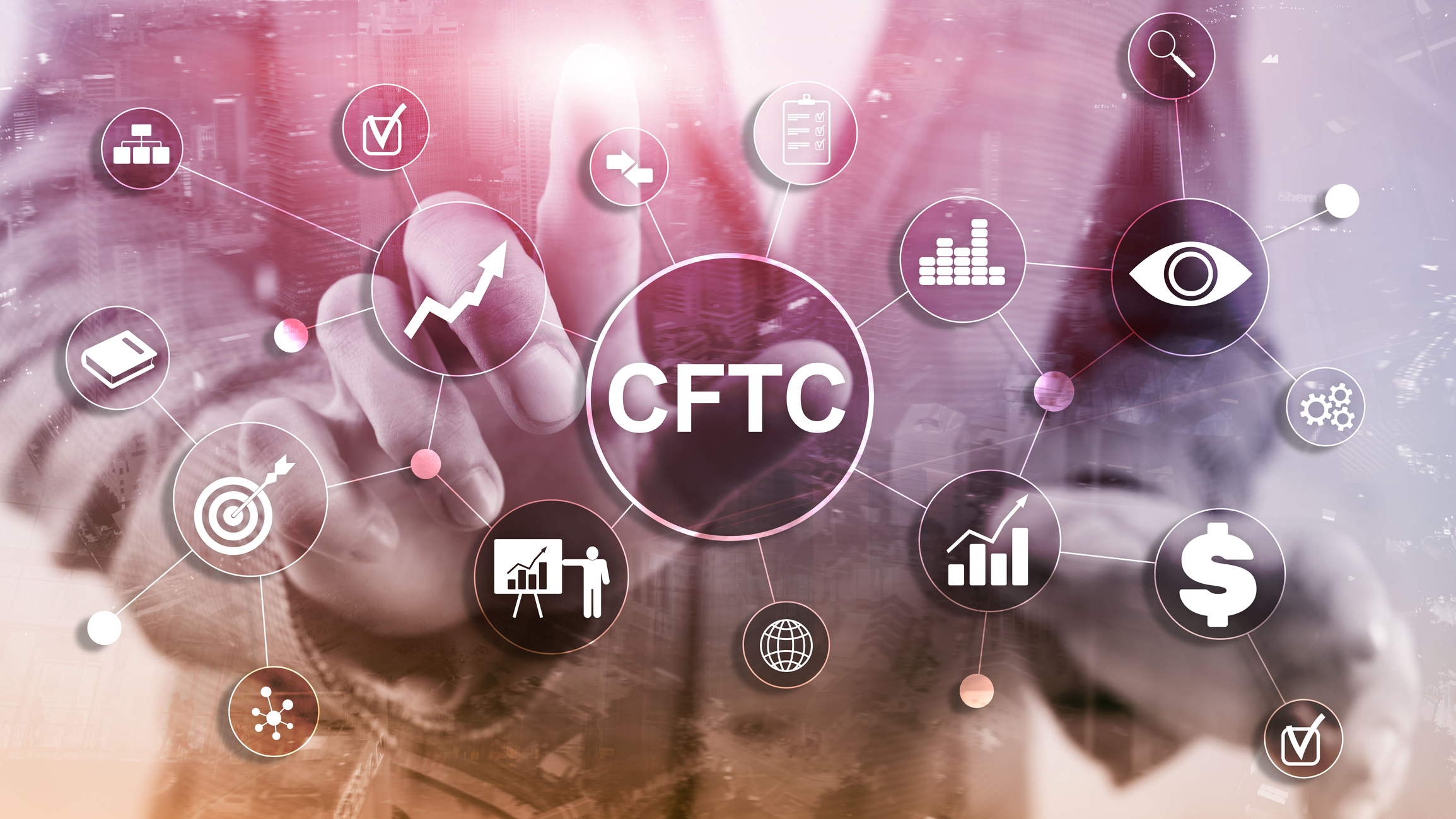 CFTC u.s. commodity futures trading commission business finance regulation concept.
