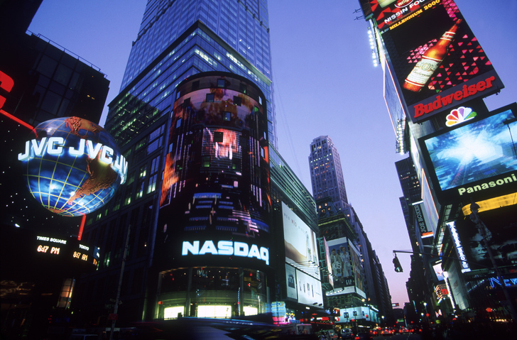 NASDAQ - Broadway & 44th Street, NYC