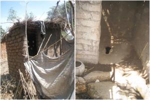 ※アフリカ地域マラウイ共和国に住む農民のトイレ